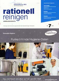 Cover: rationell reinigen