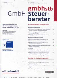 Cover: Der GmbH-Steuer-Berater