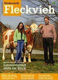 Cover: Rinderzucht Fleckvieh - Fachzeitschrift für Fleckvieh-Züchtung