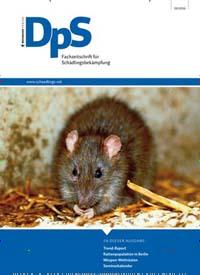 Cover: DpS - Fachzeitschrift für Schädlingsbekämpfung