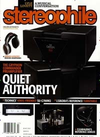 Cover: STEREOPHILE