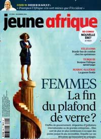 Cover: JEUNE AFRIQUE