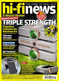 Cover: HI-FI NEWS