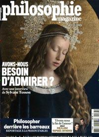 Cover: PHILOSOPHIE MAGAZINE