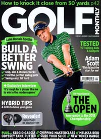 Cover: GOLF MONTHLY