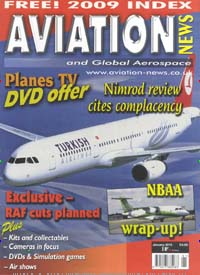 Cover: AVIATION NEWS GB