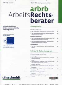 Cover: Der Arbeits-Rechts-Berater