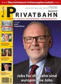 Cover: Privatbahn Magazin