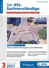 Cover: Der KFZ-Sachverständige