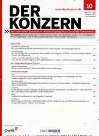 Cover: Der Konzern