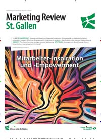 Cover: Marketing Review St. Gallen