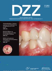 Cover: Deutsche Zahnärztliche Zeitschrift