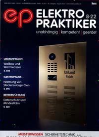 Cover: ep Elektropraktiker