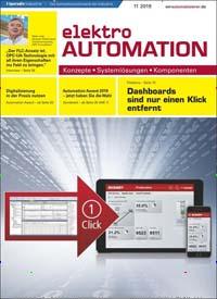 Cover: elektro automation