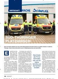 Titelbild der Ausgabe 2/2020 von SÜD-THÜRINGER PLATZHIRSCH. Zeitschriften als Abo oder epaper bei United Kiosk online kaufen.