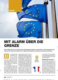 Titelbild der Ausgabe 2/2020 von Auslandseinsatz: MIT ALARM ÜBER DIE GRENZE. Zeitschriften als Abo oder epaper bei United Kiosk online kaufen.