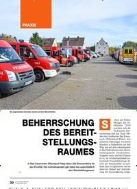 Titelbild der Ausgabe 2/2020 von BEHERRSCHUNG DES BEREITSTELLUNGSRAUMES. Zeitschriften als Abo oder epaper bei United Kiosk online kaufen.