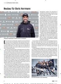 Titelbild der Ausgabe 70/2021 von Neubau für Boris Herrmann. Zeitschriften als Abo oder epaper bei United Kiosk online kaufen.