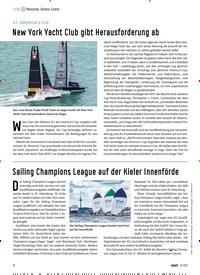 Titelbild der Ausgabe 70/2021 von New York Yacht Club gibt Herausforderung ab. Zeitschriften als Abo oder epaper bei United Kiosk online kaufen.