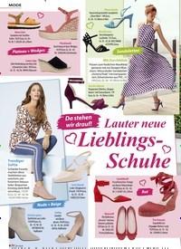 Titelbild der Ausgabe 6/2020 von MODE: Da stehen wir drauf!: Lauter neue Lieblings-Schuhe. Zeitschriften als Abo oder epaper bei United Kiosk online kaufen.