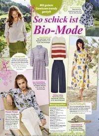 Titelbild der Ausgabe 7/2020 von So schick ist Bio-Mode. Zeitschriften als Abo oder epaper bei United Kiosk online kaufen.