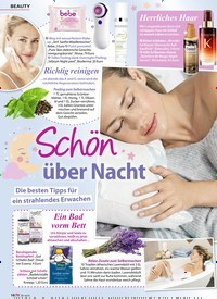 Titelbild der Ausgabe 8/2020 von Schon über Nacht. Zeitschriften als Abo oder epaper bei United Kiosk online kaufen.