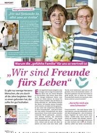 """Titelbild der Ausgabe 8/2020 von REPORT: Warum die """"gefühlte Familie"""" für uns so wertvoll ist """"Wir sind Freunde fürs Leben"""". Zeitschriften als Abo oder epaper bei United Kiosk online kaufen."""