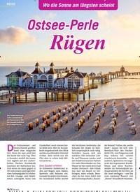 Titelbild der Ausgabe 8/2020 von Ostsee-Perle Rügen. Zeitschriften als Abo oder epaper bei United Kiosk online kaufen.