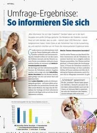 Titelbild der Ausgabe 8/2019 von Umfrage-Ergebnisse: So informieren Sie sich. Zeitschriften als Abo oder epaper bei United Kiosk online kaufen.