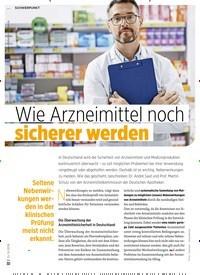 Titelbild der Ausgabe 8/2019 von Wie Arzneimittel noch sicherer werden. Zeitschriften als Abo oder epaper bei United Kiosk online kaufen.