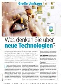Titelbild der Ausgabe 9/2019 von Was denken Sie über neue Technologien?. Zeitschriften als Abo oder epaper bei United Kiosk online kaufen.