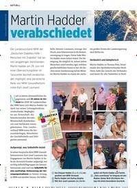Titelbild der Ausgabe 9/2019 von Martin Hadder: verabschiedet. Zeitschriften als Abo oder epaper bei United Kiosk online kaufen.