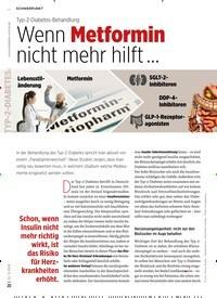 Titelbild der Ausgabe 9/2019 von Typ-2-Diabetes-Behandlung: Wenn Metformin nicht mehr hilft …. Zeitschriften als Abo oder epaper bei United Kiosk online kaufen.