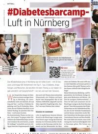 Titelbild der Ausgabe 11/2019 von #Diabetesbarcamp- Luft in Nürnberg. Zeitschriften als Abo oder epaper bei United Kiosk online kaufen.