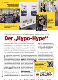 """Titelbild der Ausgabe 12/2019 von #DiabetesHypoBarcamp und die Geburtstagsparty der Blood Sugar Lounge: Der """"Hypo-Hype"""". Zeitschriften als Abo oder epaper bei United Kiosk online kaufen."""