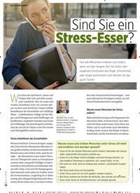 Titelbild der Ausgabe 1/2020 von Sind Sieein Stress-Esser?. Zeitschriften als Abo oder epaper bei United Kiosk online kaufen.