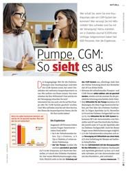 Titelbild der Ausgabe 3/2020 von Pumpe, CGM: So sieht es aus. Zeitschriften als Abo oder epaper bei United Kiosk online kaufen.