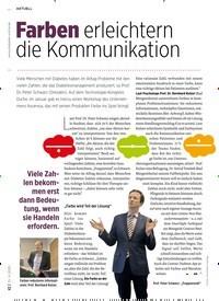 Titelbild der Ausgabe 4/2020 von Farben erleichtern die Kommunikation. Zeitschriften als Abo oder epaper bei United Kiosk online kaufen.