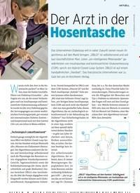 Titelbild der Ausgabe 4/2020 von Der Arzt in der Hosentasche. Zeitschriften als Abo oder epaper bei United Kiosk online kaufen.