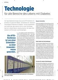 Titelbild der Ausgabe 4/2020 von Technologie für alle Bereiche des Lebens mit Diabetes. Zeitschriften als Abo oder epaper bei United Kiosk online kaufen.