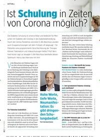 Titelbild der Ausgabe 6/2020 von Ist Schulung in Zeiten von Corona möglich?. Zeitschriften als Abo oder epaper bei United Kiosk online kaufen.