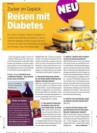 Titelbild der Ausgabe 6/2020 von Zucker im Gepäck: Reisen mit Diabetes. Zeitschriften als Abo oder epaper bei United Kiosk online kaufen.