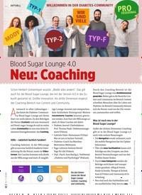 Titelbild der Ausgabe 7/2020 von Blood Sugar Lounge 4.0 Neu: Coaching. Zeitschriften als Abo oder epaper bei United Kiosk online kaufen.