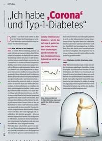 """Titelbild der Ausgabe 7/2020 von """"Ich habe 'Corona' und Typ-1-Diabetes"""". Zeitschriften als Abo oder epaper bei United Kiosk online kaufen."""