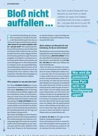 Titelbild der Ausgabe 7/2020 von Bloß nicht auffallen …. Zeitschriften als Abo oder epaper bei United Kiosk online kaufen.