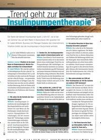 """Titelbild der Ausgabe 8/2020 von """"Trend geht zur Insulinpumpentherapie"""". Zeitschriften als Abo oder epaper bei United Kiosk online kaufen."""
