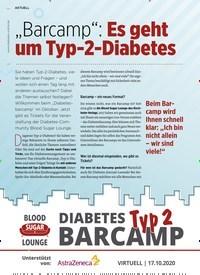 """Titelbild der Ausgabe 9/2020 von """"Barcamp"""": Es geht um Typ-2-Diabetes. Zeitschriften als Abo oder epaper bei United Kiosk online kaufen."""