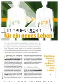 Titelbild der Ausgabe 9/2020 von Ein neues Organ für ein neues Leben. Zeitschriften als Abo oder epaper bei United Kiosk online kaufen.