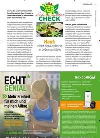 Titelbild der Ausgabe 10/2020 von Hanf: nicht berauschend in Lebensmitteln. Zeitschriften als Abo oder epaper bei United Kiosk online kaufen.