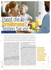 Titelbild der Ausgabe 10/2020 von Passt die Ernährung? Testen Sie es!. Zeitschriften als Abo oder epaper bei United Kiosk online kaufen.